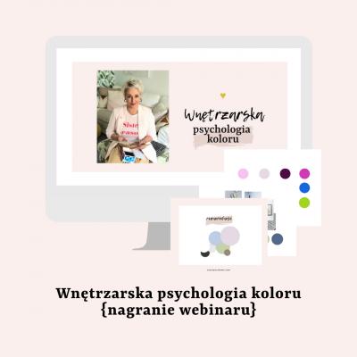 Webinar: Wnętrzarska psychologia koloru