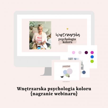 Wnętrzarskak psychologia koloru nagranie