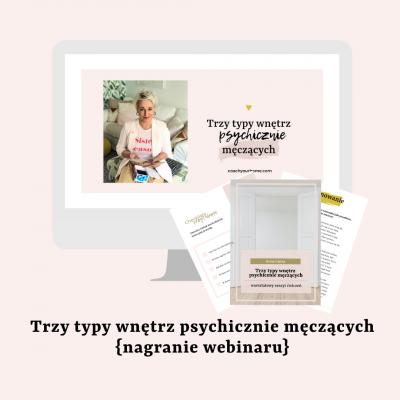 Webinar: Trzy typy wnętrz psychicznie męczących